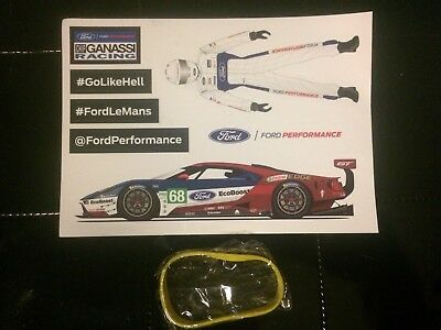 Autocollant FORD Performance #68 2018