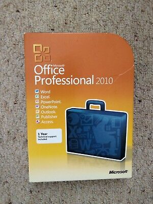 Used Microsoft Office 2010 Professional