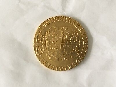 GEORGE lll 1783 GOLD GUINEA COIN-Very rare!!!