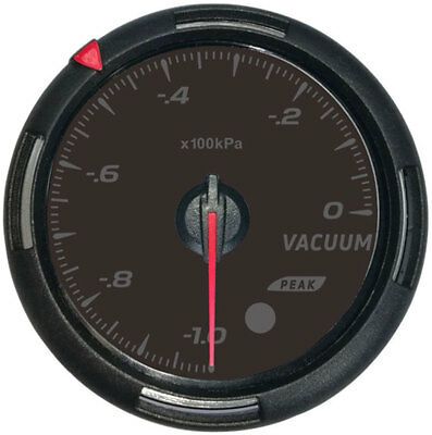 60MM/2.5'' Vacuum gauge with sender Racing instrument 64 colors of backlight