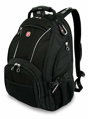 Swiss Gear SA3181 Black Computer Backpack - Fits Most 15 Inch Laptops and