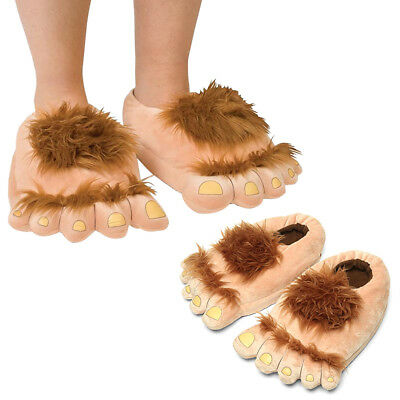 Home Foot Shape Indoor Unisex Warm Slippers Monster Plush Slippers Shoes Soft AU