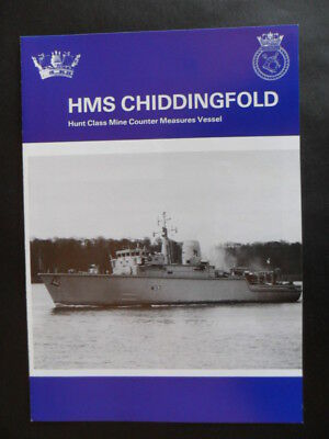 Royal Navy HMS CHIDDINGFOLD Welcome Aboard 1995