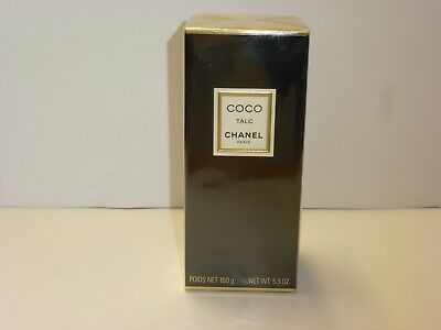 CHANEL COCO 150g Talc Talcum Powder Perfumed Body Powder 5.3 oz. COCO CHANEL