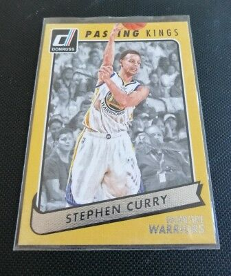 2015-16 Donruss Passing Kings Stephen Curry