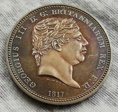 Great Britain Crown 1817 George Iii Brand New Coin Uk