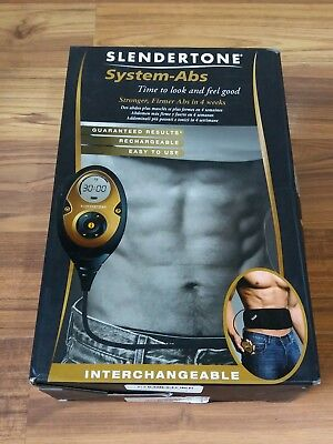 138c0cf4d12d Slendertone System Abs Interchangeable Boxed with Controller