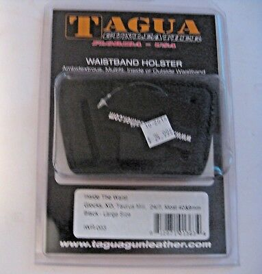 NEW TAGUA DUTY GEAR GUN PISTOL WAISTBAND HOLSTER ~ GLOCKS TAURUS ++ 40 & 9mm
