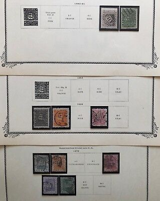 BRITISH GUIANA Collection loaded w/ early mint, specimen & MNH stamps