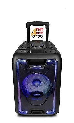 Idance Megabox 1000 200W Portable Bluetooth Sound And Light Party System Speaker