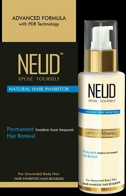 NEUD Natural Hair Inhibitor Permananent Hair Removal Cream Cream  (80 g)