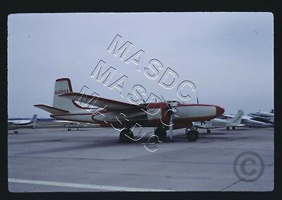35mm Kodachrome Aircraft Slide - B-26C Invader 43-22523 N4050A at Rockford 1968