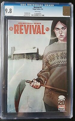 Revival #1 CGC 9.8 NM/MT Jenny Frison Image comics 2012 TV show soon.
