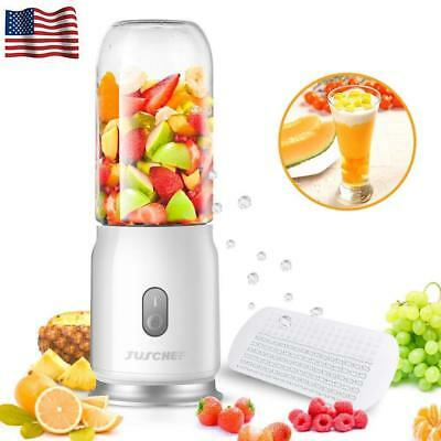 Portable Blender USB Rechargeable Travel Personal Blending for Shakes Smoothies