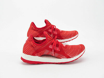 ad58c45c508fe ADIDAS PURE BOOST X Women Red Sneaker Running Shoe 10.5M Pre Owned ...