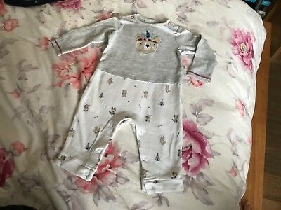the little white company london baby boy all in one outfit 6-9 m