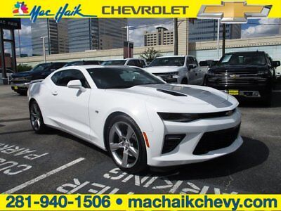 2016 Chevrolet Camaro SS 2016 Chevrolet Camaro SS 2SS Nav 18K Miles White 2dr V8 6.2L Auto GM Certified