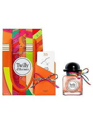 Twilly D'Hermes 50ml EDP Spray + FREE Silk Tie & Knotting Card
