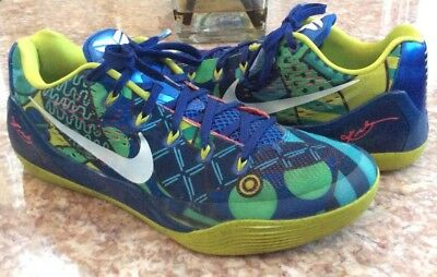 the latest c538d 3ccd8 Nike Kobe IX World Cup Brazil Game Royal Venom Green Shoes Size 11.5  646701