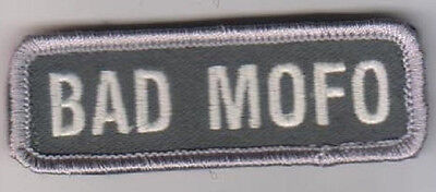 Bad Mofo Acu Light Combat Tactical Badge Oif Oef Morale Military Patch