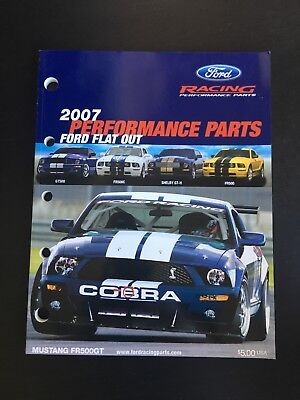 2007 Ford Racing Performance Parts Catalog Ford Motorsport MUSTANG Cobra SHELBY