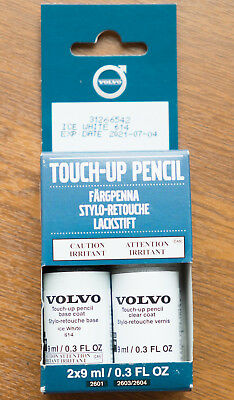 VOLVO  Genuine Touch-Up Paint 31266542 Ice White 614 EXP 2021