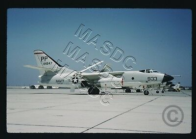 35mm Kodachrome Aircraft Slide - A3D-2P Skywarrior BuNo 144847 PP933 VCP-63 1960