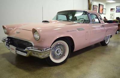 1957 Thunderbird -- 1957 Ford Thunderbird  24,850 Miles Pink Convertible V8 Other Automatic