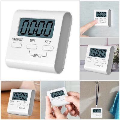 Digital Magnetic Large LCD Kitchen Cooking Timer Loud Alarm Count-Up Down Clock