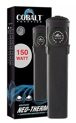 Cobalt Aquatics Neo-Therm Heater, 150 watt, New, Free Ship