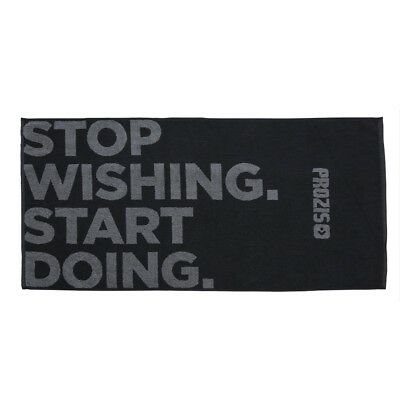 Prozis Sporthandtuch - Start doing - 100% Baumwolle 100x50 cm soft absorbierend