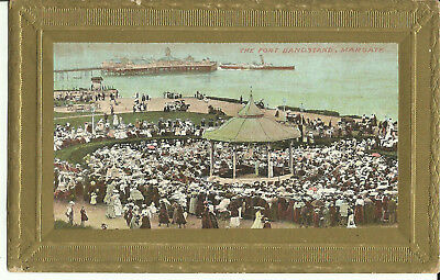 Postcard - The Port Bandstand, Margate, Kent, UK - Early Century