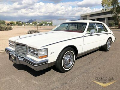 1985 Cadillac Seville  1985 Cadillac Seville - Only 19K Miles - Wire Wheels - Mint Original Car - WOW!