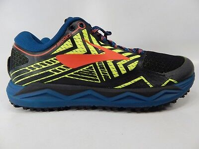 1f98fb66967 BROOKS CALDERA 2 Size 7 M (D) EU 40 Men s Trail Running Shoes Black ...