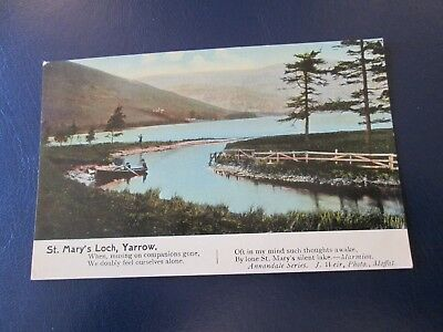 Postcard of St Mary's Loch, Yarrow (Unposted)