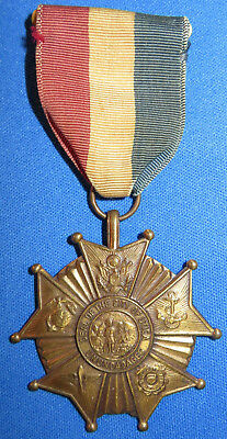 WW2 US Army City of UTICA NY Service Medal & Ribbon 1946 USMC New York WWII USAF