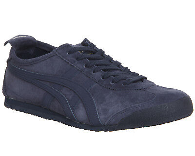 best service 6f78e d7d31 MENS ONITSUKA TIGER Navy Blue Suede Lace Up Trainers Size UK 11 *Ex Display