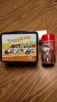 1971 The Partridge Family Metal Lunchbox With Thermos