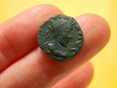 Un - Researched Roman Bronze coin  ? metal detecting detector