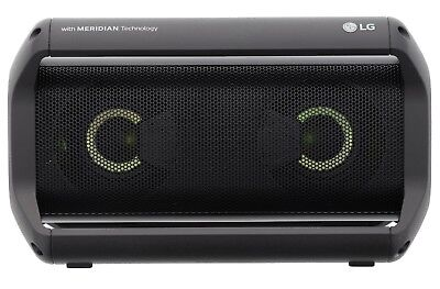 LG PK5 Portable Bluetooth Speaker with Meridian Technology 2018 USED EXCELLENT!