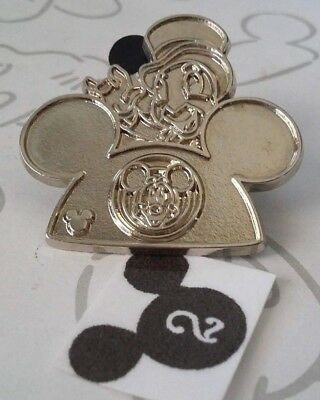 Jiminy Cricket Chaser Earhat 2015 Hidden Mickey Ear Hat WDW Disney Pin 112144
