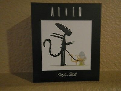 """Lootcrate Artist Series Exclusive """"Alien out for a walk"""" figure by Joey Spiotto"""