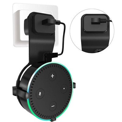 Echo Dot Wall Mount Outlet Hanger Stand for 2nd Generation Round Voice Speakers