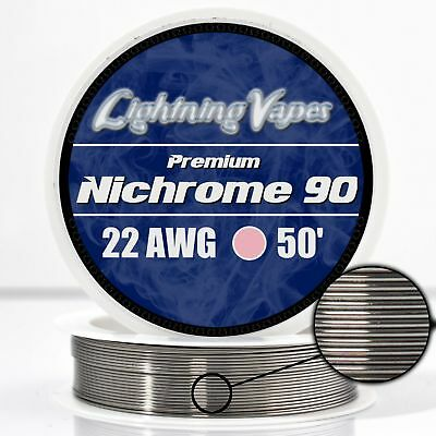 22 AWG Nichrome 90 Competition Wire 50' - N90 wire 22g GA 0.64 mm 50 ft