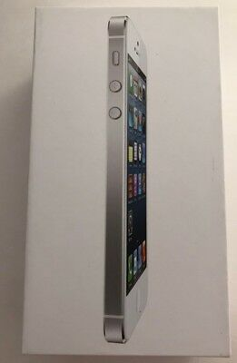Apple iPhone 5 White 16gb BOX ONLY with pamphlets