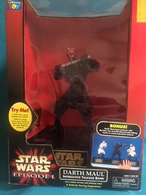 Star Wars INTERACTIVE TALKING BANK - DARTH MAUL