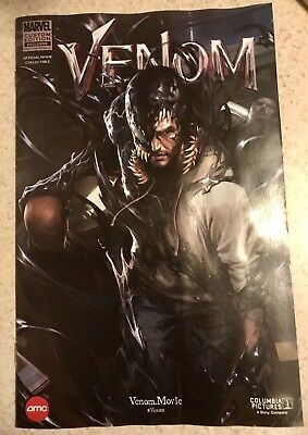 Venom #1 AMC Marvel Limited Edition Exclusive Promo Movie Comic Skan IN HAND