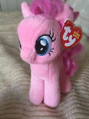 f1005dda0f3 MY LITTLE PONY Pinkie Pie Ty Beanie Baby -  6.25