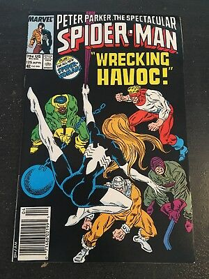 Spectacular Spider-man#125 Awesome Condition 8.0(1987) New Spider-woman!!