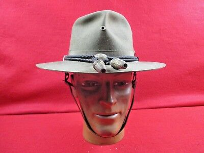 WWI US Army Green Campaign Hat G.W.Alexander & Co. Inc. Reading PA Size 7 1/4